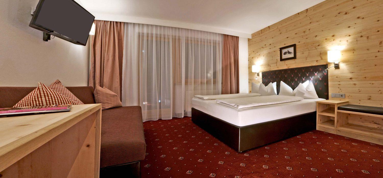 Doppelzimmer Premium für 2 bis 3 Personen