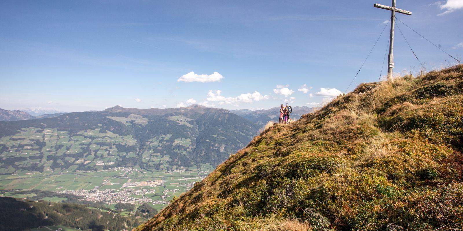 Spieljoch Sommer | © Erste Ferienregion im Zillertal / Andi Frank