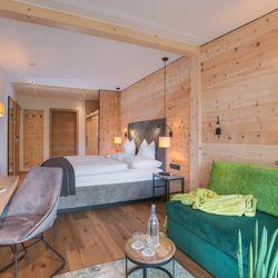 Doppelzimmer Deluxe im Hotel Tipotsch