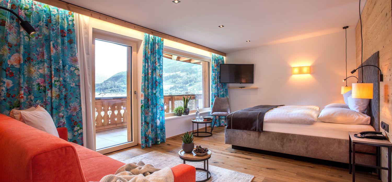 Doppelzimmer Panorama für 3-4 Personen