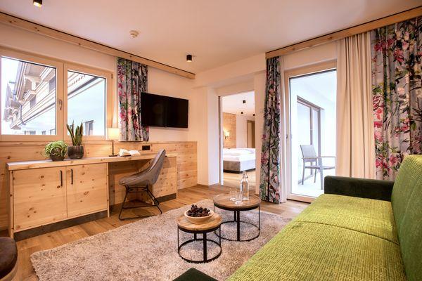 Turm Suite im Hotel Tipotsch